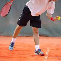 footwork Strong Wrist Racket Face